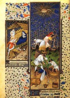 Les Heures du Duc de Rohan Le signe du scorpion 15ème siècle